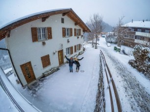 Our home in Adelboden